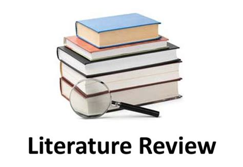 Why is the literature review important